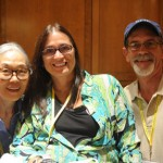 Yoshiko Dart, Marca Bristo and Mark Derry at the 2011 Annual Conference