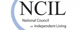 NCIL logo - National Council on Independent Living