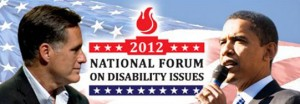 NFDI Logo with Romney and Obama