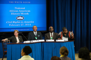NCIL Members At White House Event on Civil Rights