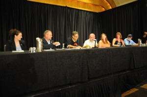 Signing Ceremony – featuring representatives from American Red Cross, NCIL, and Portlight Strategies
