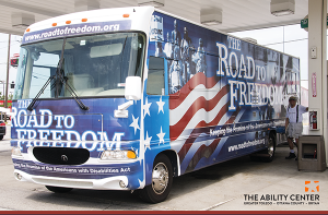 Road to Freedom Bus - photo by the Ability Center of Greater Toledo