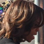 Close Up of the First Lady in Selma AL