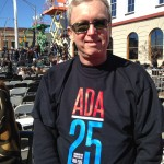 Dan Kessler Wearing ADA25 T-Shirt