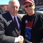 Representative Steny Hoyer - D-MD and Dan Kessler