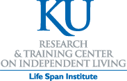 Logo - University of Kansas Research and Training Center on Independent Living Life Span Institute