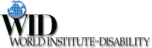 WID Logo - World Institute on Disability