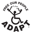 ADAPT Logo - Free Our People