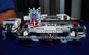 Braille Embosser made of Lego Robotics