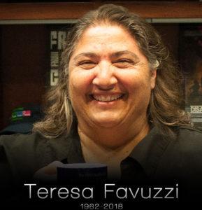 Headshot: Teresa Favuzzi 1962-2018